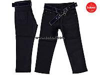 Плотные брюки-джинсы для мальчиков 5,6 лет