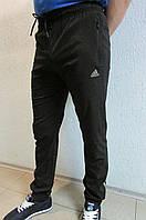 Мужские спортивные штаны Adidas 89621-1 черные код 368б