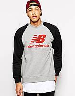 """Мужской Свитшот (с начёсом) Нью Баланс """"New Balance"""""""