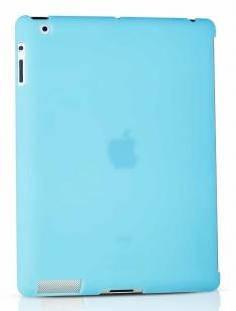 """Полупрозрачный чехол - накладка для планшета 9.7"""" ODOYO SMARTCOAT Ipad Air (BLUE) PA531BL"""