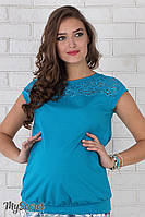 Блуза для беременных Isabel (морская волна)