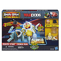 Игра Angry Birds Star Wars Telepods Death Star Trench Run