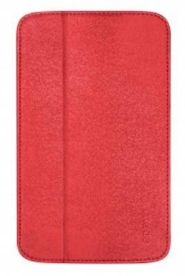 "Яркий чехол для планшета диагональю 7.0"" ODOYO GLITZ COAT Galaxy TAB3 BLAZING (RED) PH621RD"