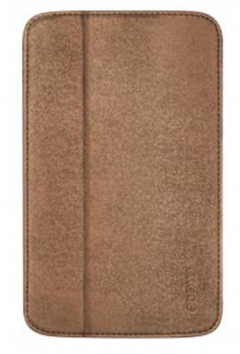 """Приятный чехол для планшета диагональю 7.0"""" ODOYO GLITZ COAT Galaxy TAB3 (SADDLE BROWN) PH621BR"""