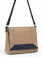 Стильная кожаная сумка через плечо в 2х цветах 14223BS1-W2