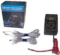 Цифровой терморегулятор 10А для инкубатора DALAS в  комплекте с нагревателем