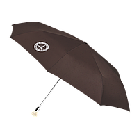 Складной зонт Mercedes 300 SL Compact Umbrella, Brown / Silver