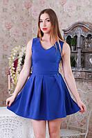 Платье мини в складку р.46-48  Y211.2
