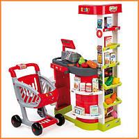 Интерактивный супермаркет с тележкой City Shop Smoby 350204