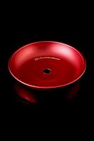 Блюдце Kaya Elox Colored красное матовое