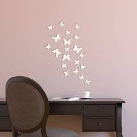 Декоративное акриловое зеркало Маленькие бабочки