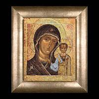 Вышивка крестом Икона Казанской Божьей матери