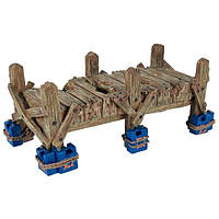 Декорация для аквариума и террариума Trixie (Трикси) Мост для рептилий, 19 см