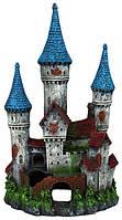 Декорация для аквариума Замок с башенками Trixie (Трикси), 12x32×16 см