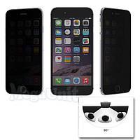 Anti Spy Защитное стекло для экрана iPhone 6 Plus анти-шпион (с фильтром конфиденциальности)