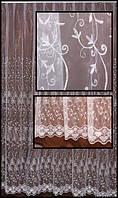 Гардины на окна с узором