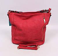 Оригинальная женская сумка Little Pigeon в красном цвете