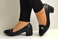 Туфли Айс на удобном каблуке премиум качество