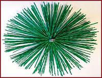 Щётка пластиковая для чистки дымохода от сажи ∅175мм