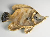 Блюдо керамическое Рыба