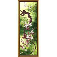 Набор для вышивания бисером Нова Слобода НР-6054 Цветущая сакура
