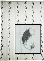 Тюль на окна для черно белого интерьера
