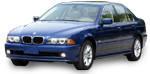 Автомобильные чехлы BMW 5 Series E39 1996–2003 sedan цельная з.сп. и сид