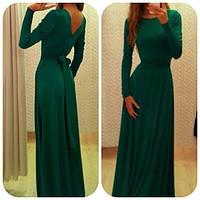 Платье макси зеленое макси ПТИЧКА ЯН   $, фото 1