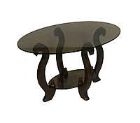 Стеклянный журнальный столик Лидер ДС-3