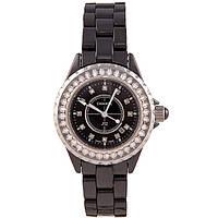 Женские изящные часы Chanel J12 Black