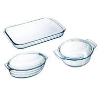 Набор посуды из жаропрочного стекла Arcuisine