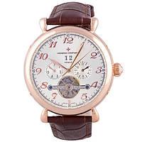 Классические мужские часы Vacheron Constantin Brown White