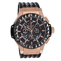 Стильные наручные часы Hublot x Depeche Mode Studded Big Bang Gold