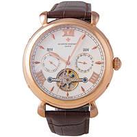 Классические мужские часы Vacheron Constantin Tourbillon White Gold