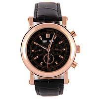 Мужские наручные часы Patek Philippe Grand Complications Perpetual Calendar Gold Black