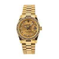 Стильные женские часы Rolex Diamant
