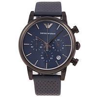 Часы с хронографом Armani AR1737 Blue AAA