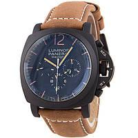 Наручные мужские часы Panerai Luminor Chrono Daylight Brown
