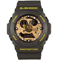 Спортивные наручные часы CASIO G-Shock GA-300 Black-Yellow