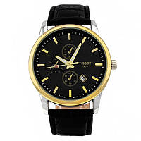 Стильные часы Tissot Gold Black