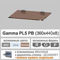 Полка стеклянная Commus PL5 PB
