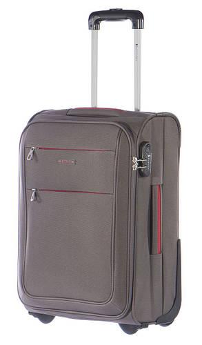 Тканевый малый чемодан 2-колесный 35 л. Puccini Camerino 5700/5 серый