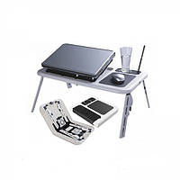 Столик-подставка для ноутбука с двумя кулерами E-Table
