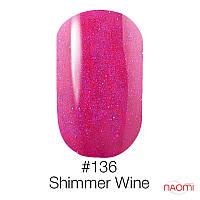 Гель-лак Naomi Gel Polish 136 - Shimmer Wine 6ml
