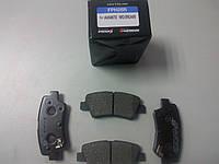 Колодки тормозные задние на Hyundai Elantra MD, Accent 11-, i 30/Kia Soul, Rio 11-