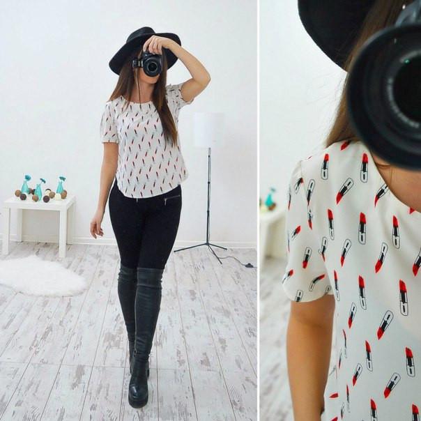 Модные Блузки С Доставкой
