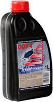 Тормозная жидкость ALPINE Brake Fluid DOT 4 1л