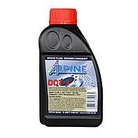 Тормозная жидкость ALPINE Brake Fluid DOT 4 0,5л