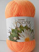 Пряжа для ручного вязания Ареола акрил №10