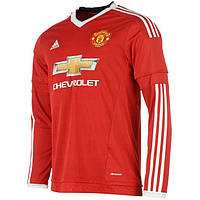 Манчестер Юнайтед Игровая футболка Adidas Home Kit LS 2015/16